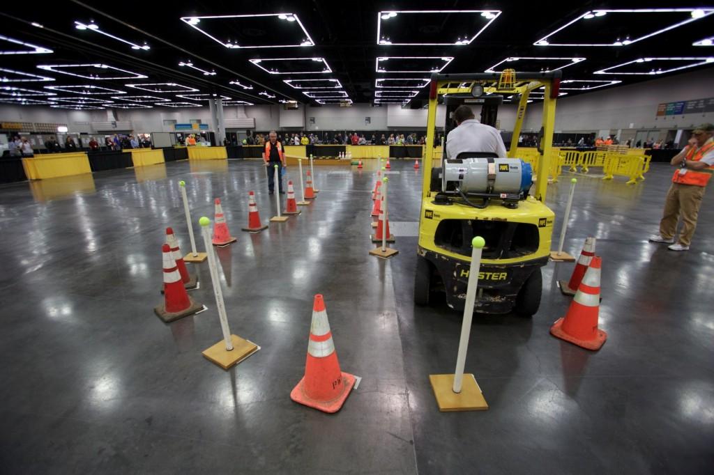 Forklift Challenge Oregon Governor S Occupational Safety