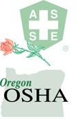 ASSE Oregon OSHA logo combo