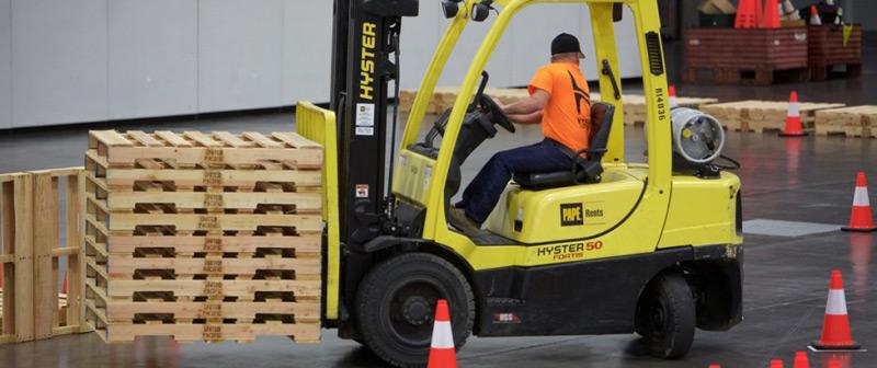 Columbia Forklift Challenge photo