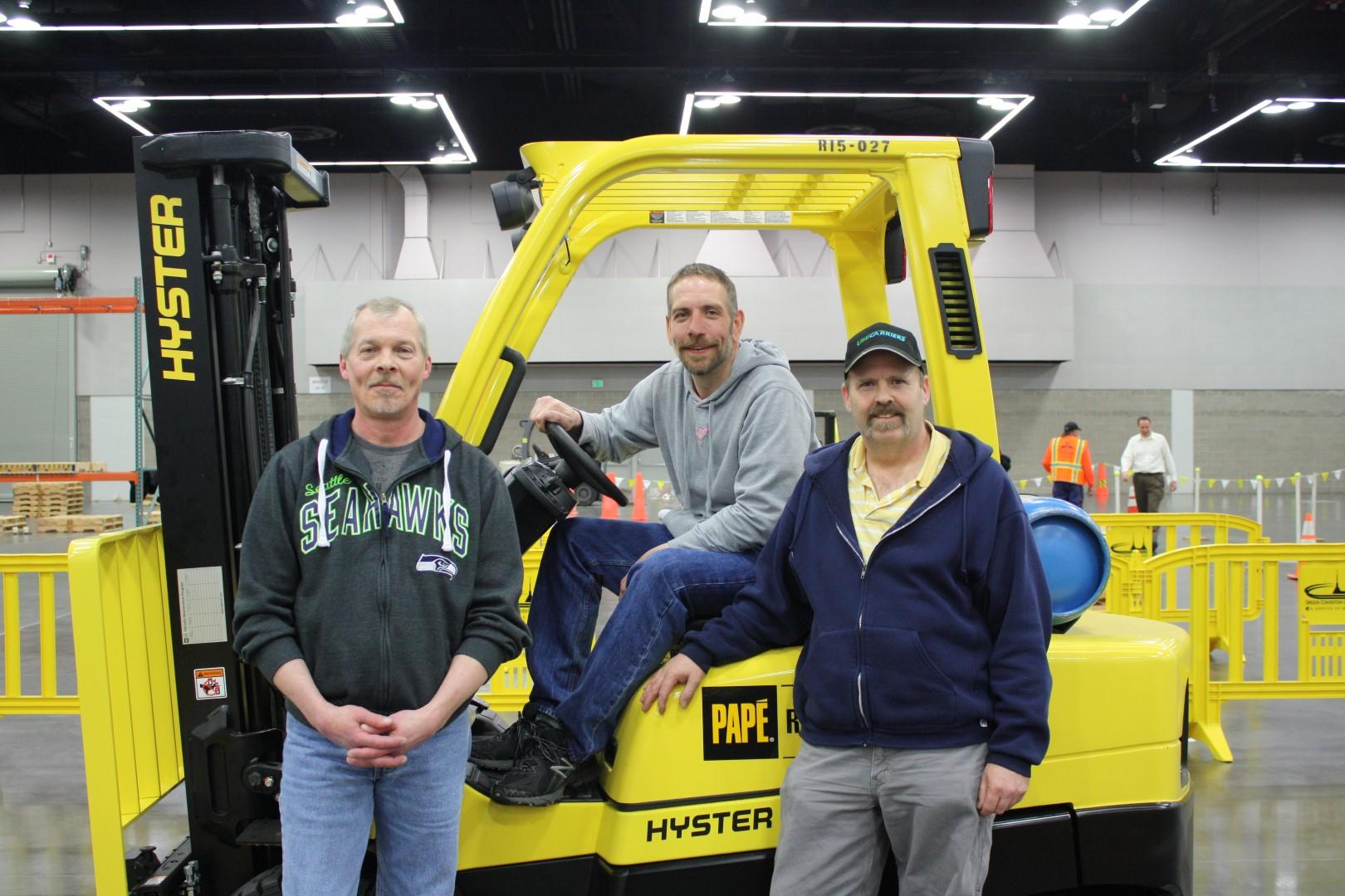2015 Columbia Forklift Challenge Winners