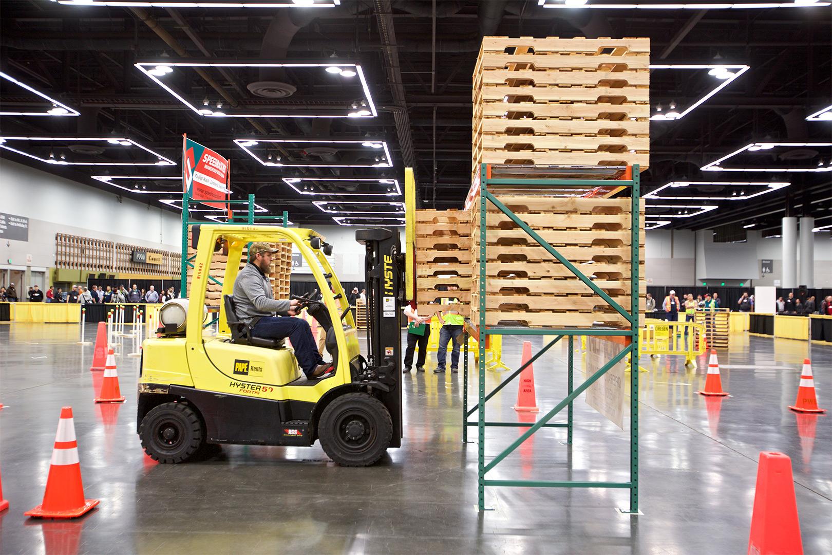 2017 Columbia Forklift Challenge Winners