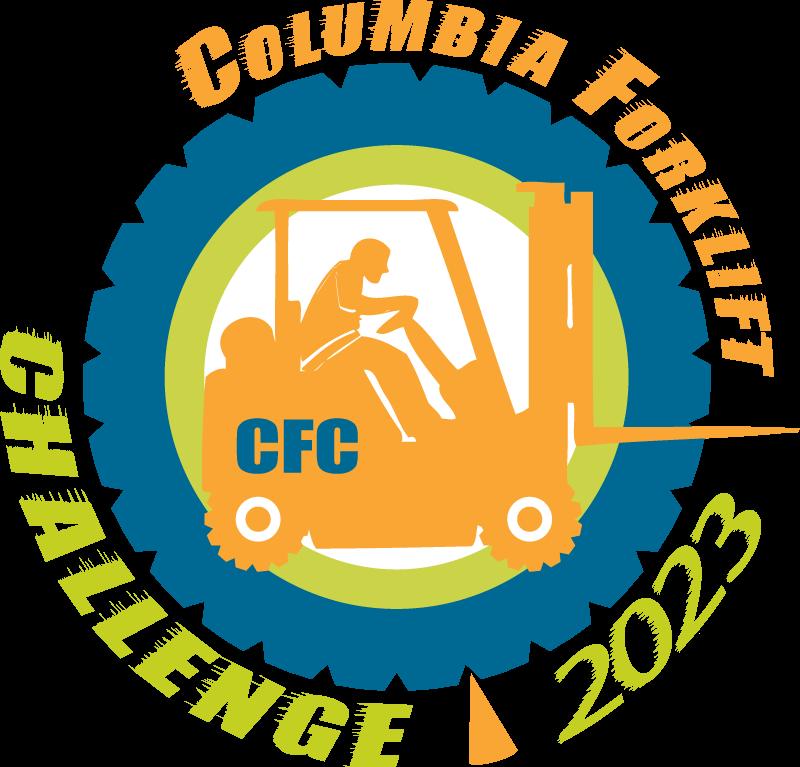 2023 Columbia Forklift Challenge logo